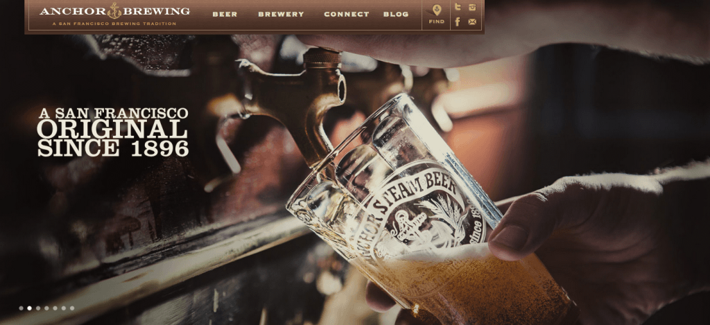 anchor brewing homepage