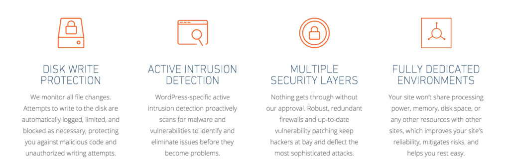 WP Engine Security Features